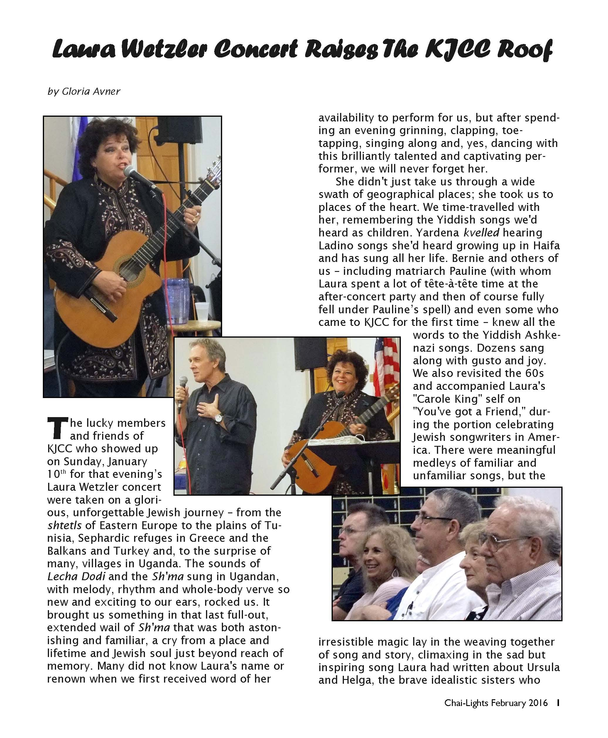 Keys Concert Review Page 1